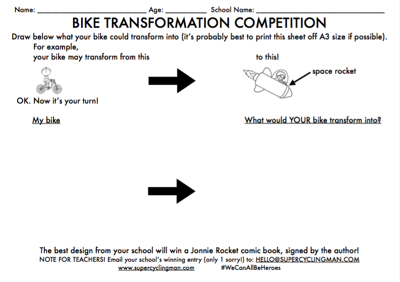 Bike transformation competition