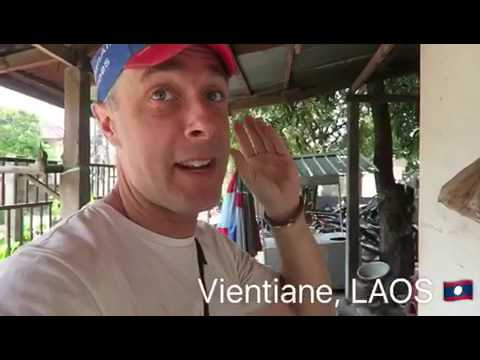 2nd April 2017 - 7 Continents World Cycle, LAOS