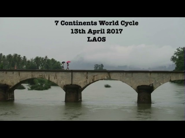 13th April 2017 – washing my clothes in the toilet – 7 Continents World Cycle, LAOS