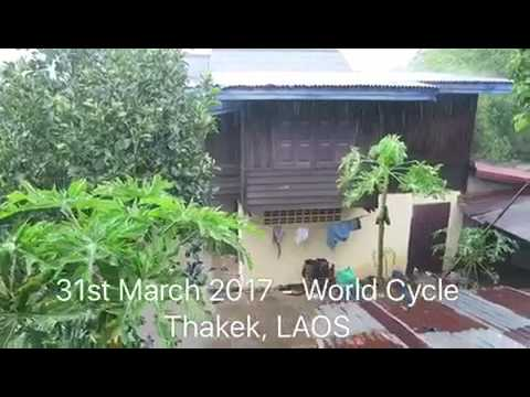 31st March 2017 - 7 Continents World Cycle, LAOS