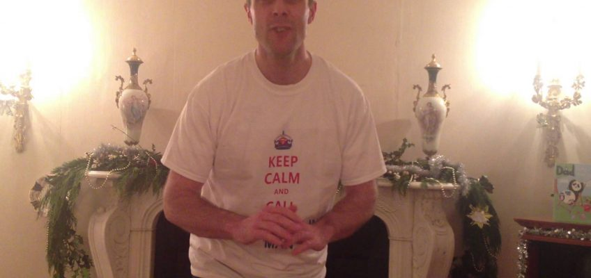 A special Christmas Day message from SCM (SuperCyclingMan)
