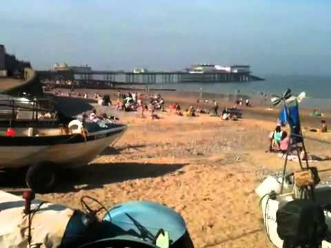 SuperCyclingMan caught with pants down on Norfolk beach
