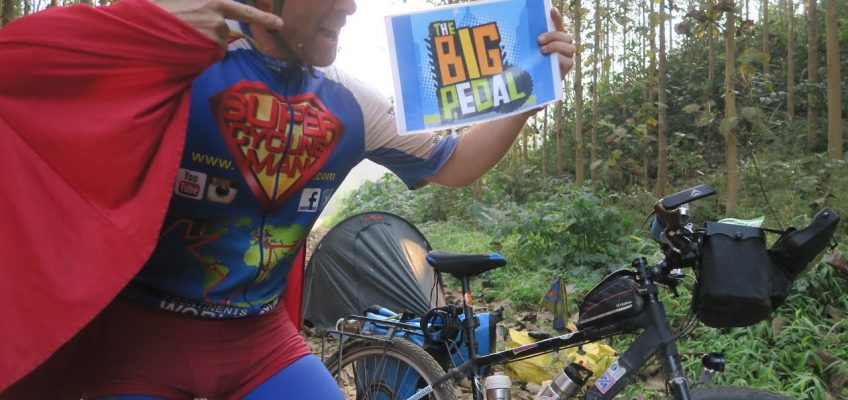 SuperCyclingMan says GOOD LUCK for the Big Pedal