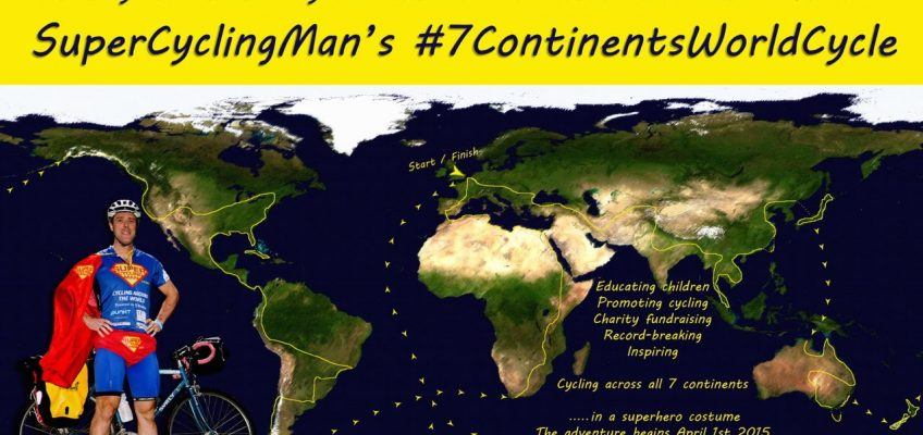 SuperCyclingMan's 7 Continents World Cycle - The Big Idea