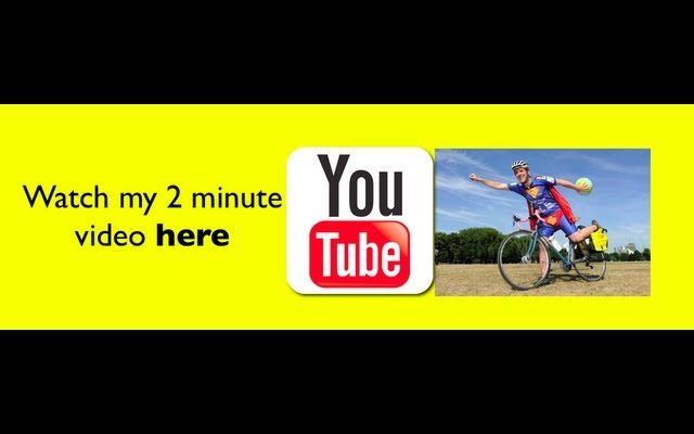 SuperCyclingMan's video entry to win a £20,000 Kukri Adventure Scholarship