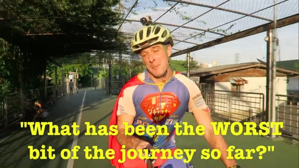 What's been the WORST bit of cycling around the world?