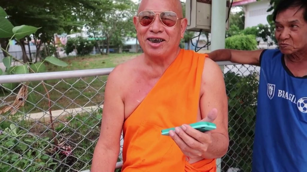 Thai monk tells me great joke!