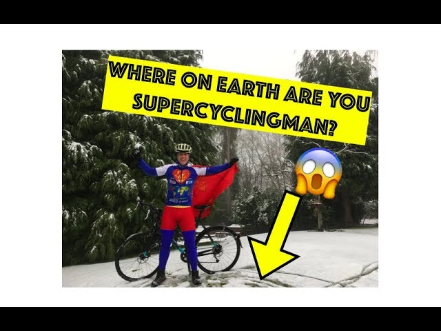 Where ON EARTH are you SuperCyclingMan?