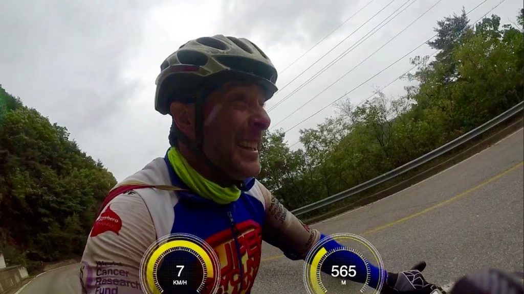 Cycling in a Super Typhoon in Korea